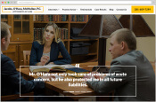 Big 6 Media Jacobs, O'Hara, McMullen, P.C. client screenshot - thumbnail